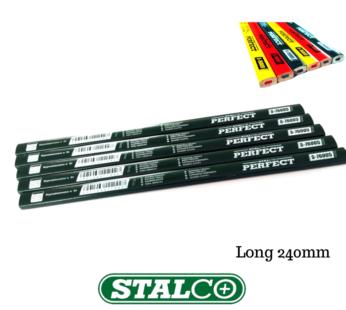 Long Blackedge Masonry Pencils Green Wood Marking Pencils 240mm