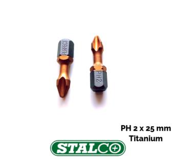 PH2 x 25mm Titanium Phillips Screwdriver Bit Premium Quality