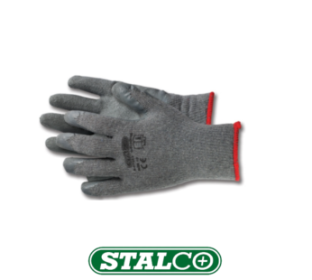 Strong Latex-coated polyester cotton gloves