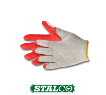 Work, protective Latex-coated cotton gloves – Universal size