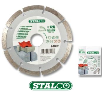 Segmented diamond disc 125 mm cutting blade masonry grinder solid saw angle
