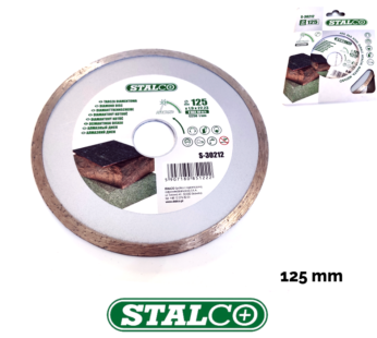 Continuous diamond disc 125 mm cutting blade masonry grinder solid saw angle