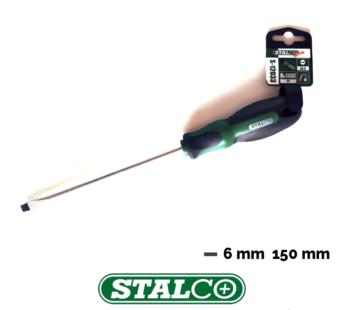 Flat head screwdriver 6 mm x 150 mm