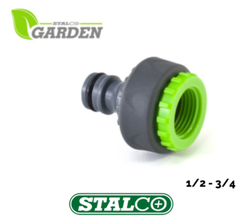 1/2″ 3/4″ Screw On Threaded Tap End Connector Garden Hose Pipe Lock Adaptor
