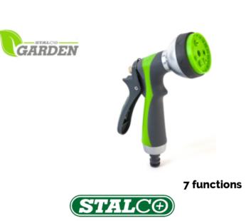 7 Function Sprinkler gun Garden Water Gun Hose Pipe Sprayer Jet Spray Sprinkler Nozzle Fitting