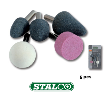 5 pcs Stone bit set grinding mounted 1/4″ router grinder drill craft metal