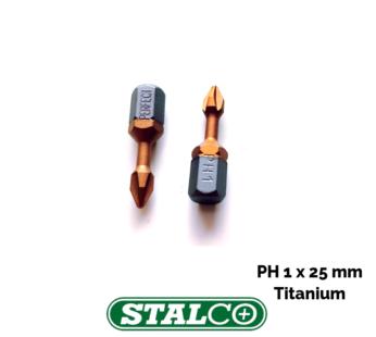 PH1 x 25mm Titanium Phillips Screwdriver Bit Premium Quality