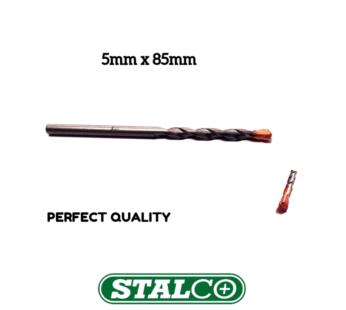 5mm x 85mm Masonry drill bits for brick stone concrete block PERFECT Stalco
