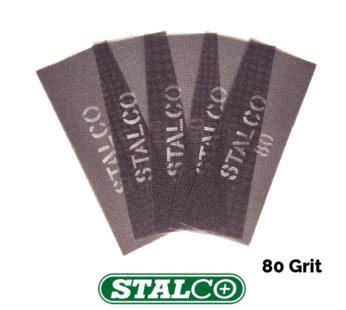 80 GRIT Abrasive Strips Sanding Sheet Mesh Hand Sander Plaster Metal Wood