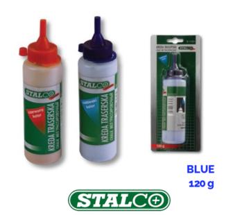 BLUE Chalk Powder Builders String Line Marking Refill Reels Level Quality Stalco