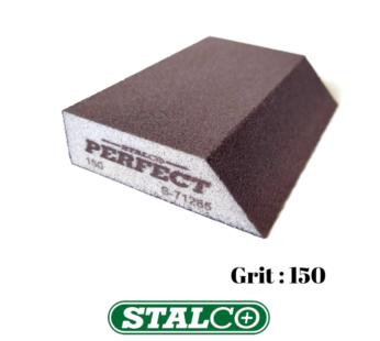 150 GRIT Abrasive Wet & Dry ANGLED Sanding Foam Sponge Block Fine Paint Stalco