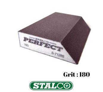 180 GRIT Abrasive Wet & Dry ANGLED Sanding Foam Sponge Block Fine Paint