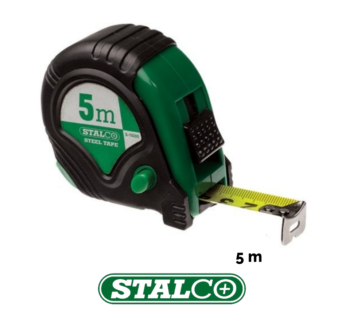 5m Tape Measure Stalco Metres Blade Rubber GripLock System Quality