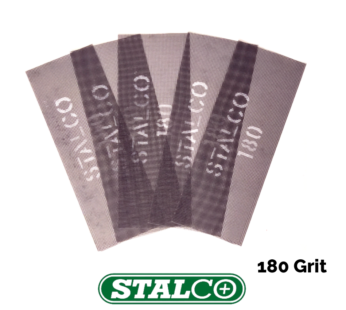 180 GRIT Abrasive Strips Sanding Sheet Mesh Hand Sander Plaster Metal Wood