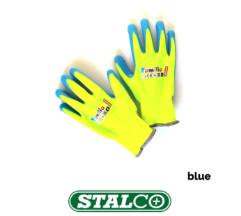 KIDS GLOVES BLUE Gardening Work Lightweight Flexible Professional Protection Coated