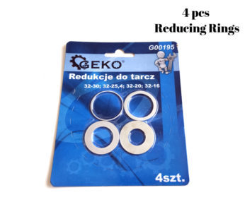 Circular saw blade reduction ring from 32mm – 4 pcs