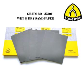 Wet and dry sandpaper sand paper Klingspor Poland 2500 grit