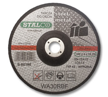 125 mm Convex cutting disc for metal
